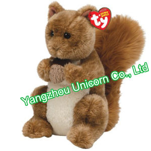 EN71 Gift Soft Stuffed Animal Squirrel with Nut Plush Toy pictures & photos