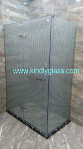 Colorful Silk Screen Bathroom Tempered Glass pictures & photos