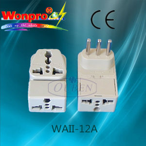 Univeral Travel Adaptor -WAII-12A(Socket, Plug) pictures & photos