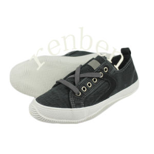 Hot Sale Style Men′s Canvas Shoes pictures & photos