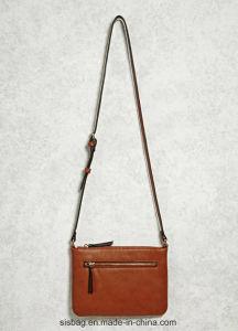 New Designer Tan Color Shoulder Bag Zip Crossbody Bag pictures & photos