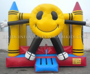 Happyface Crayon Inflatable Jumper, Bouncer, Bounce House B1139 pictures & photos