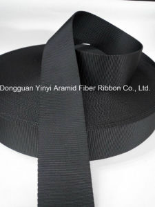 45mm Black Nylon Webbing for Car Safety Belt pictures & photos