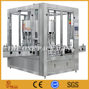 China Hot Sale Automatic Rotary Liquid Filler/ Bottle Filling Machine pictures & photos