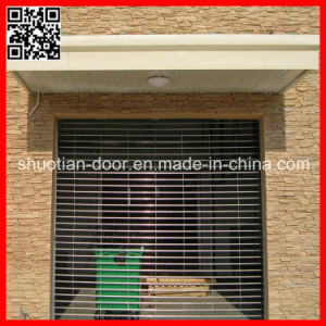 Stainless Steel Auto Rolling Security Grilles (ST-002) pictures & photos