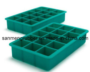 FDA Silicone Ice Tray/Molded Silicone Mould pictures & photos
