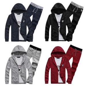 Wholesale Custom New Mens Sports Hoodie Men Track Suit pictures & photos