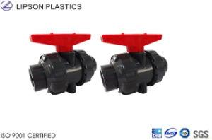 Hot Sale DIN JIS ANSI Standard UPVC CPVC Ball Valves pictures & photos