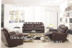 Leather Sofa /Recliner Sofa (866#) pictures & photos