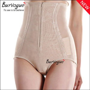 Lace Body Shaper Underpants with Zip