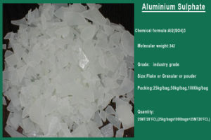 China Hot Wastewater Treatment Chemicals 17% Aluminum Sulfate pictures & photos