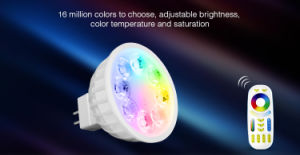 4W MR16 RGB+CCT LED Spotlight pictures & photos