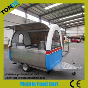 Most Popular Mobile Food Cart Kiosk Street Food Trailer pictures & photos