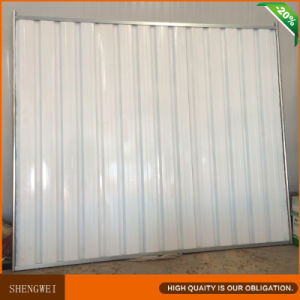 China Solid Corrugated Steel Privacy Fence pictures & photos