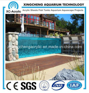 Acrylic Sheet for Outside Swimming Pool pictures & photos
