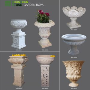 China Manufacture Granite Planter Garden Flower Pot pictures & photos