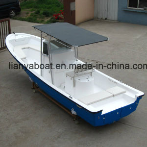 Liya 5-7.6m China New Fishing Vessel Fiberglass Fishing Boat for Sale pictures & photos
