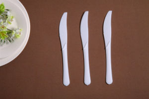 High Standard PP Disposable Plastic Knife pictures & photos