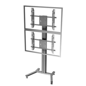 Public TV Floor Stand Dual Screen 30-60′ (AVA 201C) pictures & photos