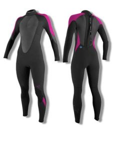 Women′s Neoprene Full Body Surfing Wetsuit with Ultra Stretch Nylon on Both Sides pictures & photos