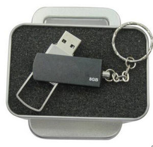 Metal USB Flash Drive with Metal Box pictures & photos