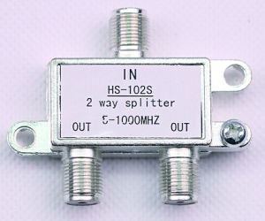 2way CATV Splitter (SHJ-HS102S) pictures & photos