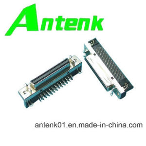 SCSI Connectors, 50p/Female Db Type Right Angle for PCB pictures & photos