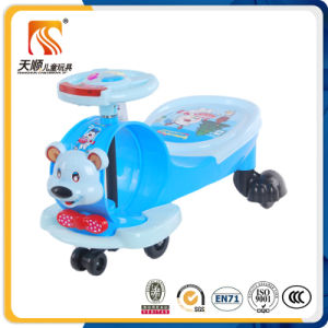 Wholesale Wiggle Car for Kids with Pulling Rope and Music pictures & photos