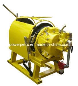 5t High Cable Storage Pneumatic Air Tugger Winch with Extended Drum pictures & photos