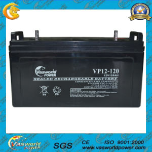 12V120ah AGM Rechargeable Sealed Lead Acid Battery pictures & photos