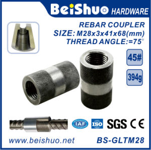 Rebar Coupler Steel Connecting Sleeve/Rebar Splicing Coupler for Construction pictures & photos