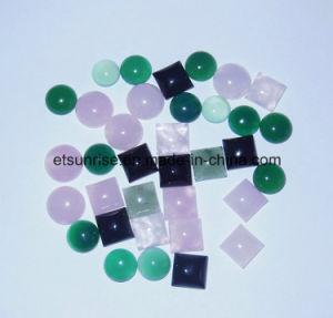 Gemstone Crystal Agate Cabochon Setting Accessories (ESB01667) pictures & photos