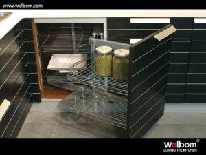 Welbom Modern Oak Veneer Kitchen Cabinet pictures & photos
