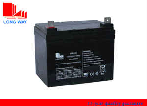 12V33ah Gel Deep Cycle AGM Battery for Solar pictures & photos