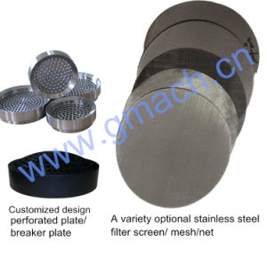 No. 304 Steel Welded Wire Mesh for Screen Changer pictures & photos