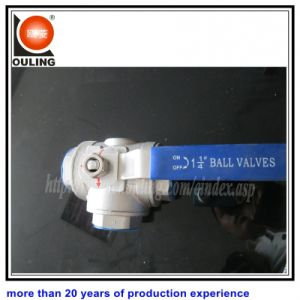 Thread Three Way Ball Valve