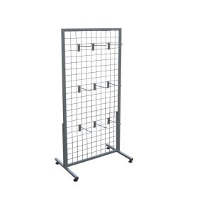 Free Standing Wire Mesh Display Rack