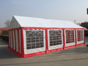 6X12 PVC or PE Party Marquee Wedding Tent (P-0612) pictures & photos
