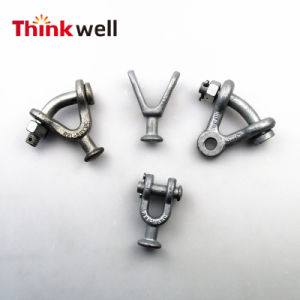 Forged Galvanized Y Ball Clevis for Transmission Line Fitting pictures & photos
