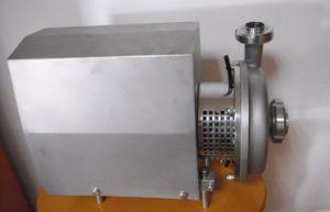 Sanitary Stainless Steel Self-Priming Pump Ss304/316