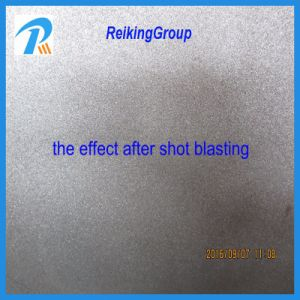 Rust Steel Pipe Shot Blasting Machine pictures & photos