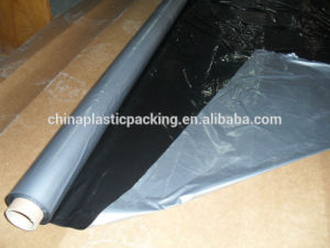 PE Black Silver Agricultural Mulch Film with Free Hole