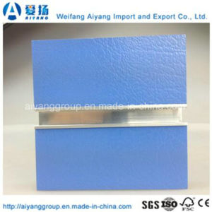 17mm Solid Colour Slatwall Used in Supermarket with Ce Certificate pictures & photos