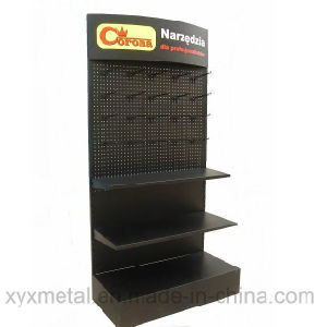 Pegboard Metal Display Shelf Shelving Equipment Gondola Supermarket Rack pictures & photos