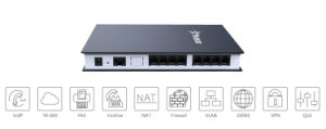 SIP Trunk Switch 8 PSTN FXO Ports VoIP Analog FXO Gateway pictures & photos