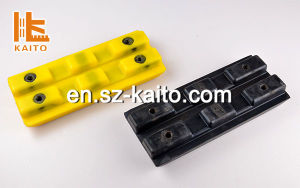 Wirtgen Undercarriage Spare Parts Polyurethane Track Pads pictures & photos