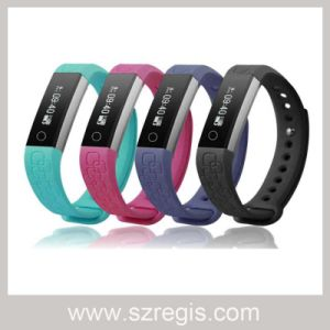 Smart Waterproof Bluetooth Silicone Smart Reminder Sports Bracelet pictures & photos