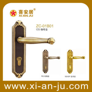Zc Serious Luruxy Mortise Brass Bedroom Handle Door Lock (ZC-01B01)