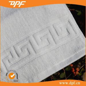 Oeko Certified Egyptian Cotton White Jacquard Hotel Bath Towel pictures & photos