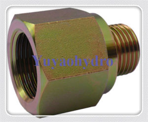 Hydraulic Straight Female Connector Fittings pictures & photos